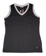 Canyon Women Sports Top schwarz/weiss