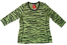 Canyon T-Shirt Tigerprint pistazie-black Gr. 42