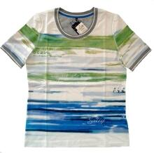 Canyon Women Sports T-Shirt Druck Seablue