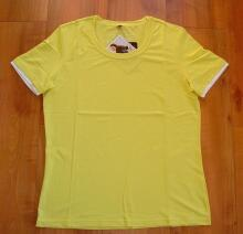 Canyon Women Sports T- Shirt Basic- Shirt uni banane