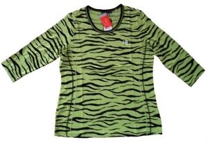 Canyon T- Shirt Tigerprint pistazie- black Gr. 42