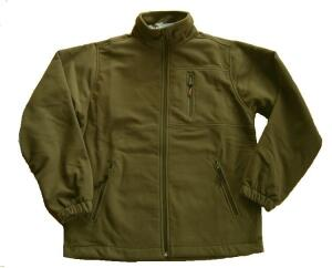 Hot Sportswear Fleecejacke Windbloc khaki