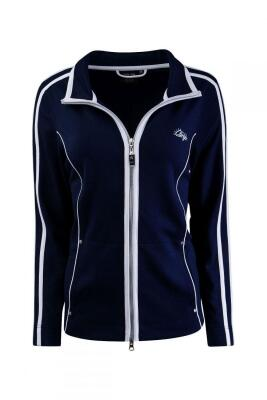 Canyon Damen Sweatjacke navy-white