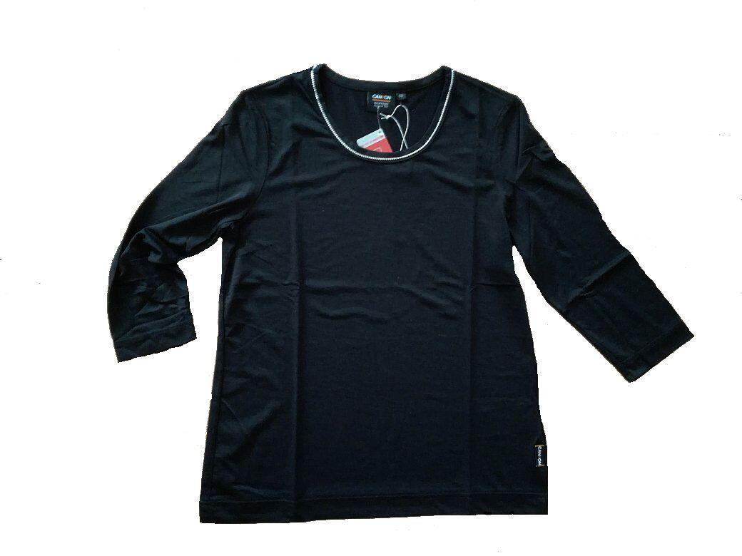 Canyon T Shirt 34 Arm schwarz