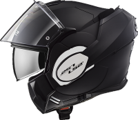 LS2 Klapphelm Valiant matt black FF399