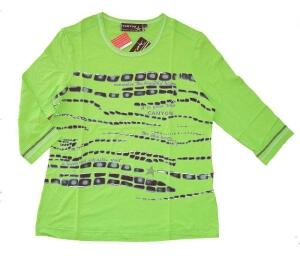Canyon T-Shirt lime Druck