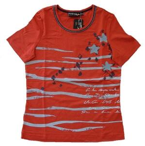 Canyon T-Shirt Print red clay