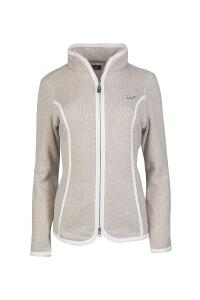 Canyon Strickfleecejacke mandel-white