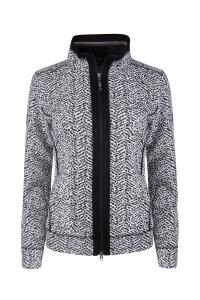 Canyon Sweatjacke black-white