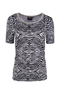 Canyon Women Sports T-Shirt Zebra
