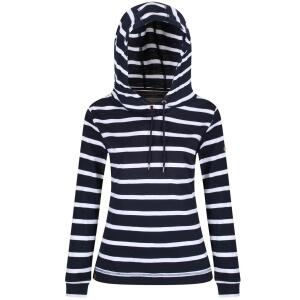 Regatta Hoody Modesta Navy Stripes Maritim