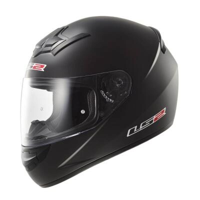 LS2 Helm Rookie Single Mono FF352 schwarzmatt