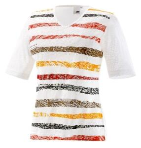 Joy T-Shirt Wiona tobacco stripes