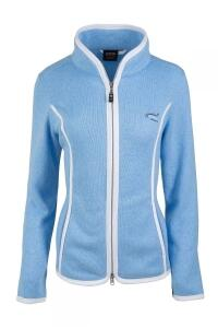 Canyon Strickfleecejacke iceblue-white