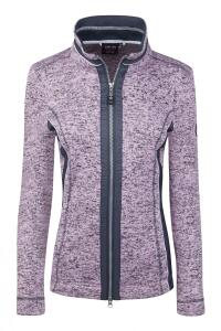 Canyon Damen Strickfleecejacke rose melange