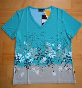 Canyon Women Sports T- Shirt in rot oder lagune Gr. 40