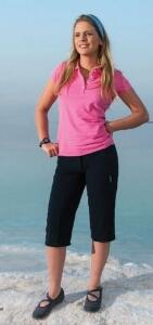 Hot Sportswear St. Louis Damen Capri Stretch navy