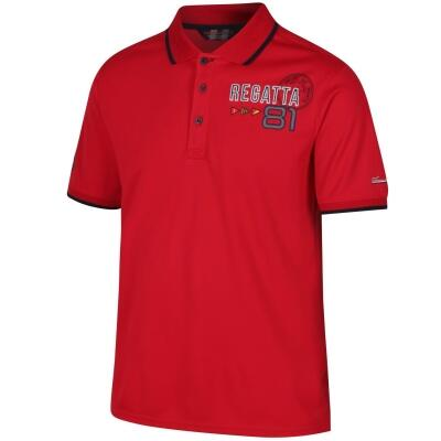 Regatta Polo Shirt Tremont II rot
