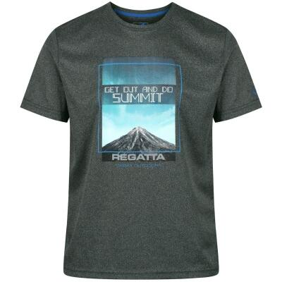 Regatta Fingal III Funktions-T-Shirt grau