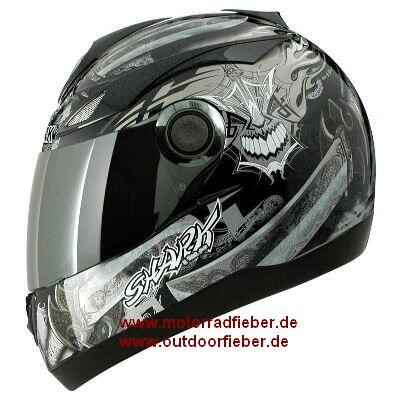 Shark Helm S 500 Air Samurai schwarz