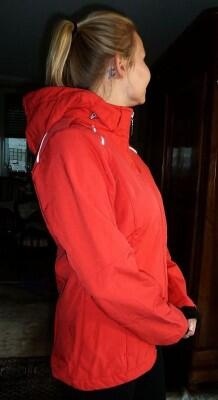 Canyon Women Sports Softshelljacke rot