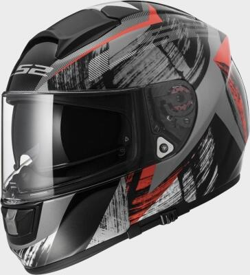 LS2 Helm FF397 Vector Cosmos black-red