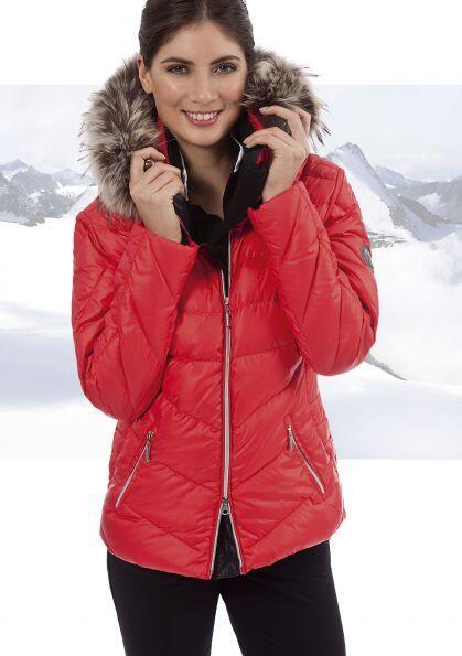 huge selection of 8631d 6aa5a Canyon Daunenjacke für Damen mit Echtpelz schwarz