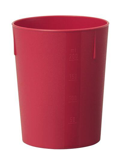 Outdoorbecher 250 ml rot