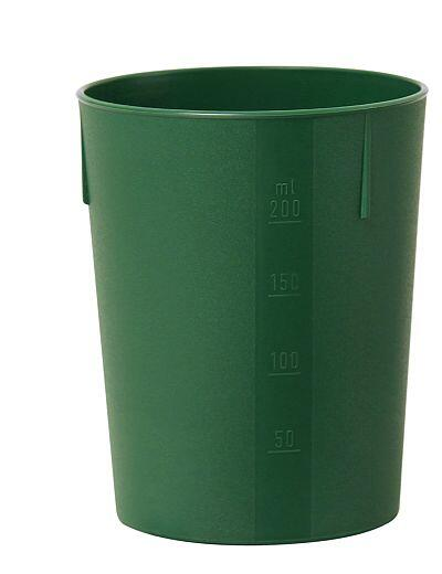 Outdoorbecher 250 ml grün