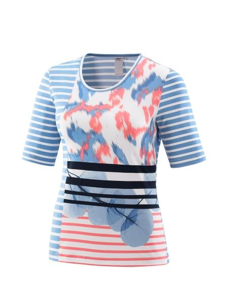 Joy T-Shirt Anura whisper stripes